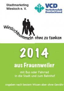 Mobilitätsfaltblatt Frauenweiler 2014