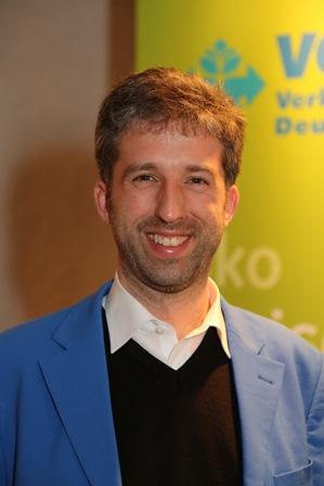 Boris Palmer, Tübingen, bei seinem Vortrag in Wiesloch, 8. April 2013 (Foto: Helmut Pfeifer)