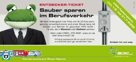 Flyer Entdecker-Ticket