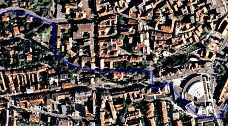 Detail zur Innenstadt-Routenführung