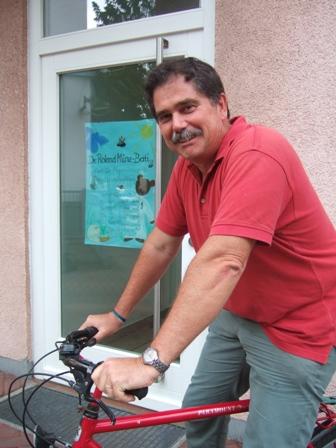 Radler des Monats Juli: Dr. Roland Münz-Berti