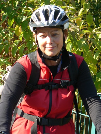 Radlerin des Monats Oktober: Konni Lindauer
