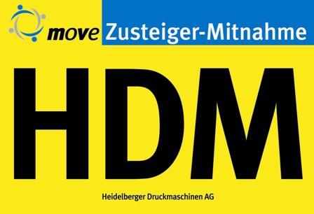 HDM: Heidelberger Druckmaschinen AG, Werk Wiesloch